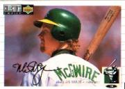1994 Collector's Choice Silver Signature #525 Mark McGwire