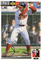 1994 Collector's Choice Silver Signature #624 Jim Thome