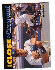 1994 Collector's Choice Silver Signature #637 Mike Piazza UP