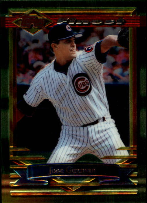 1994 Finest #93 Jose Guzman