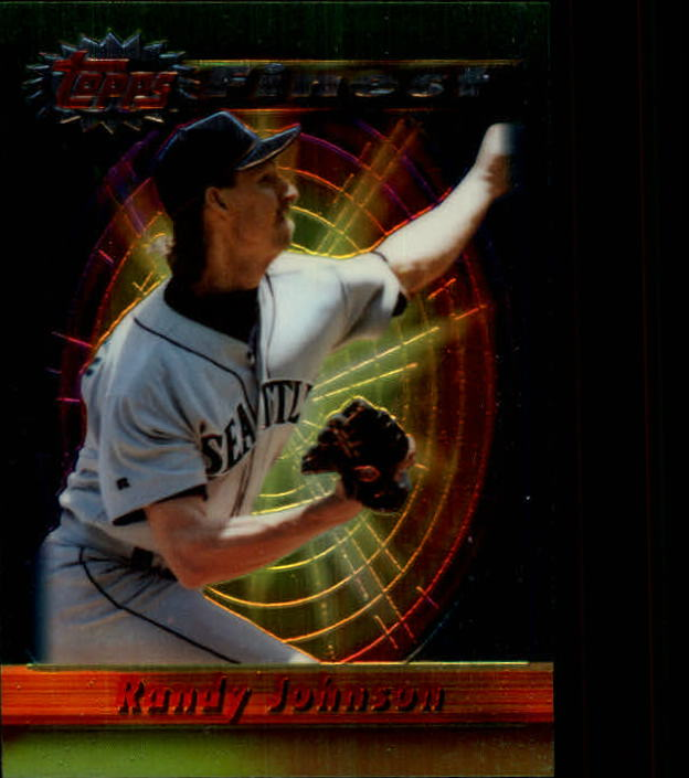 1994 Finest #213 Randy Johnson FIN