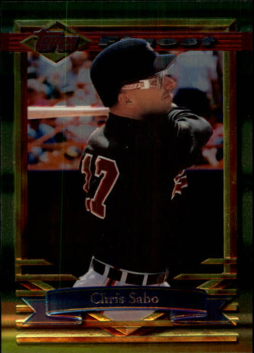 1994 Finest #418 Chris Sabo