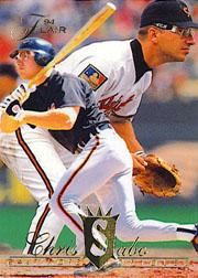 1994 Flair #9 Chris Sabo
