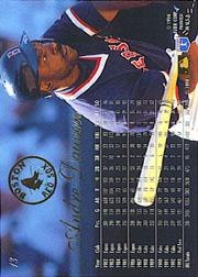 1994 Flair #13 Andre Dawson back image