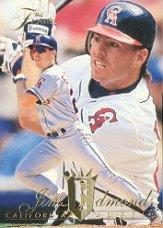 1994 Flair #21 Jim Edmonds