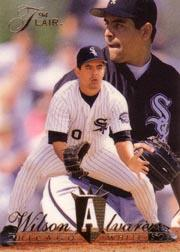 1994 Flair #28 Wilson Alvarez
