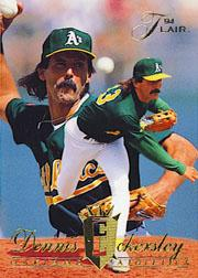 1994 Flair #91 Dennis Eckersley front image