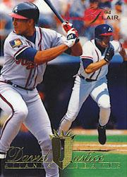 1994 Flair #126 David Justice
