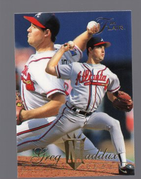1994 Flair #130 Greg Maddux