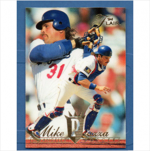 1994 Flair #182 Mike Piazza