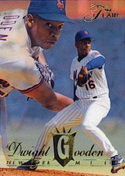 1994 Flair #197 Dwight Gooden front image