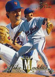 1994 Flair #201 Mike Maddux