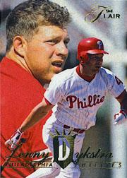 1994 Flair #205 Lenny Dykstra