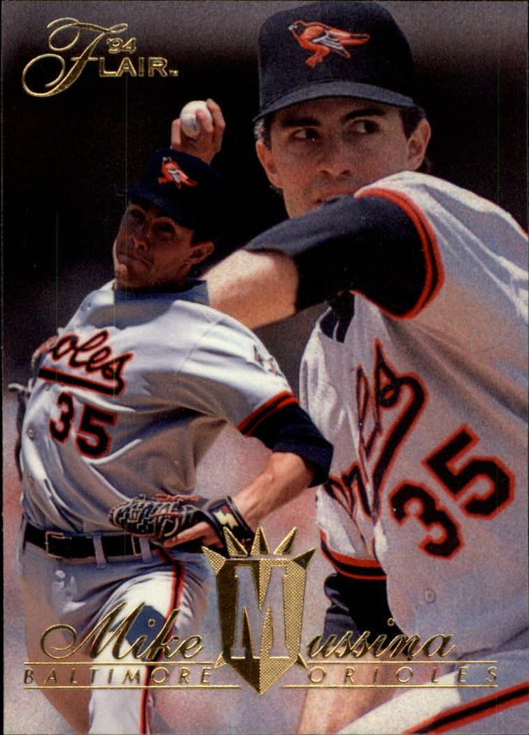 1994 Flair #255 Mike Mussina