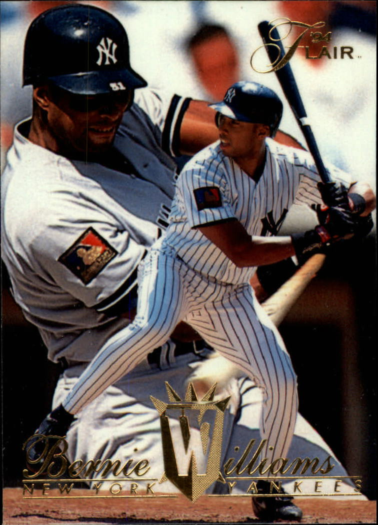 1994 Flair #326 Bernie Williams