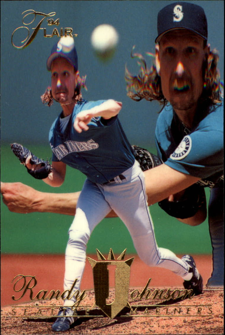 1994 Flair #337 Randy Johnson