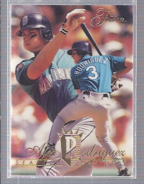 1994 Flair #340 Alex Rodriguez RC