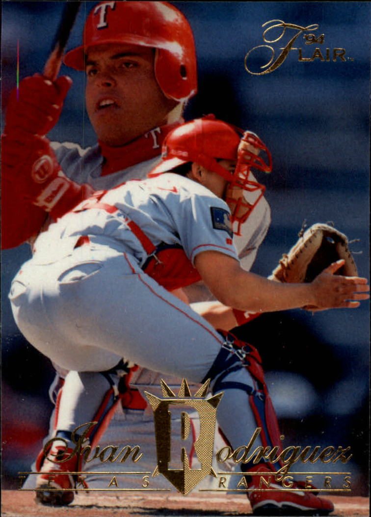 1994 Flair #346 Ivan Rodriguez