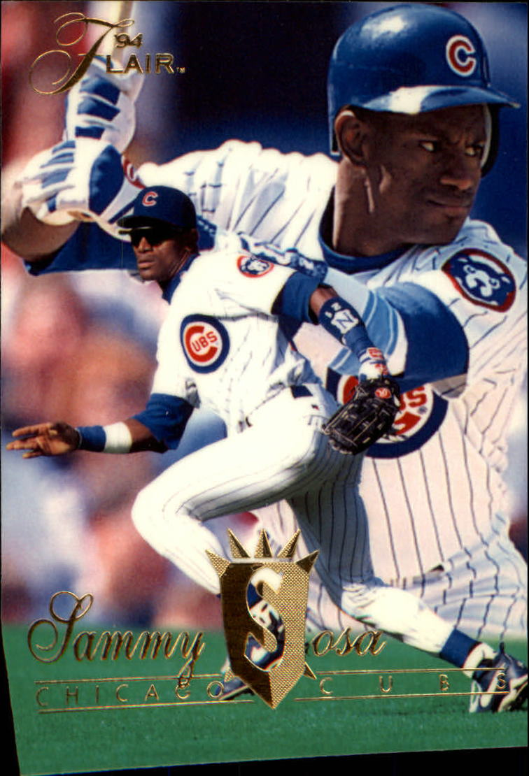 1994 Flair #363 Sammy Sosa