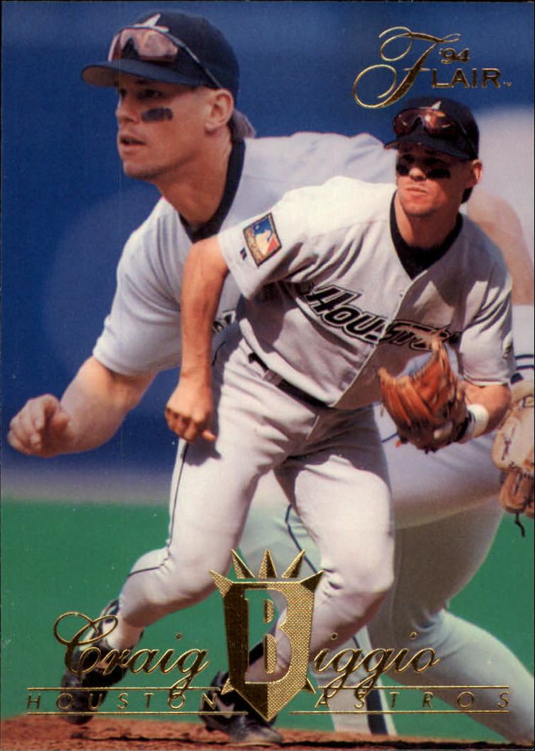 1994 Flair #386 Craig Biggio