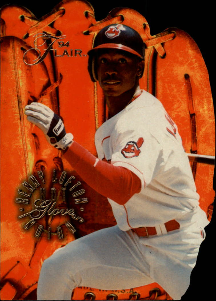 1994 Flair Hot Gloves #4 Kenny Lofton
