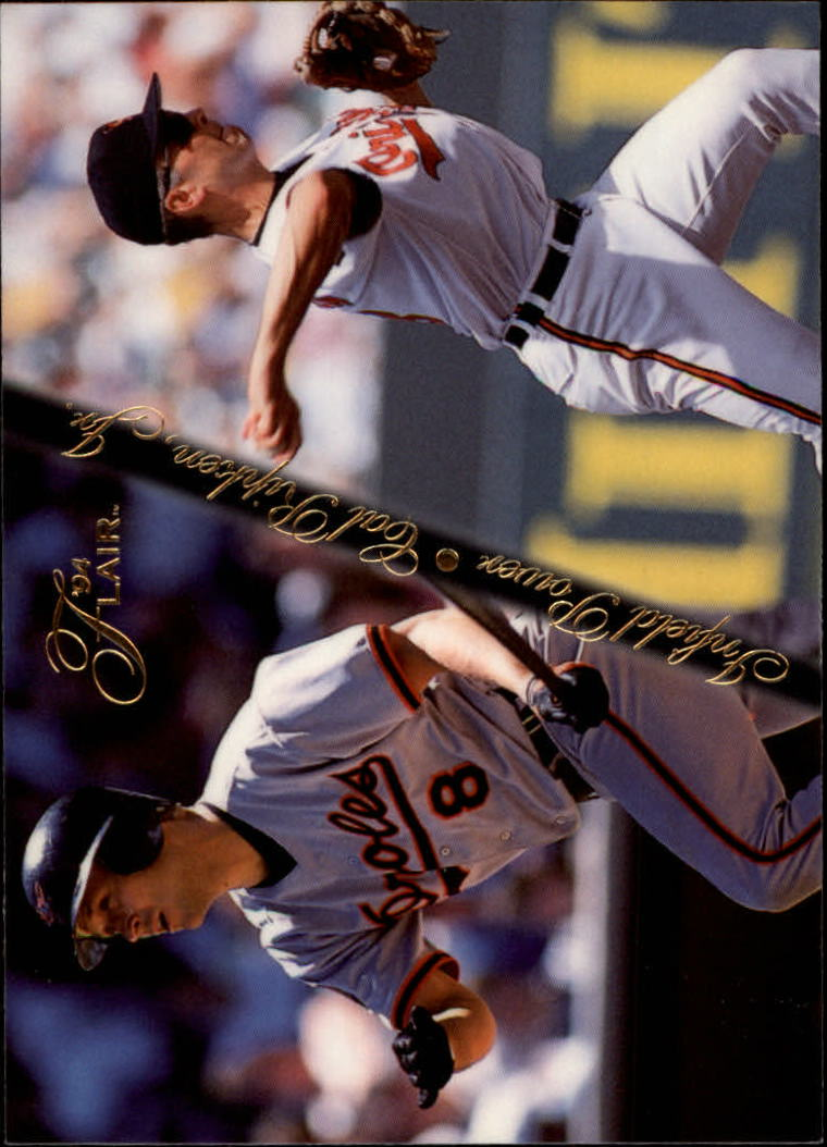 1994 Flair Infield Power #8 Cal Ripken