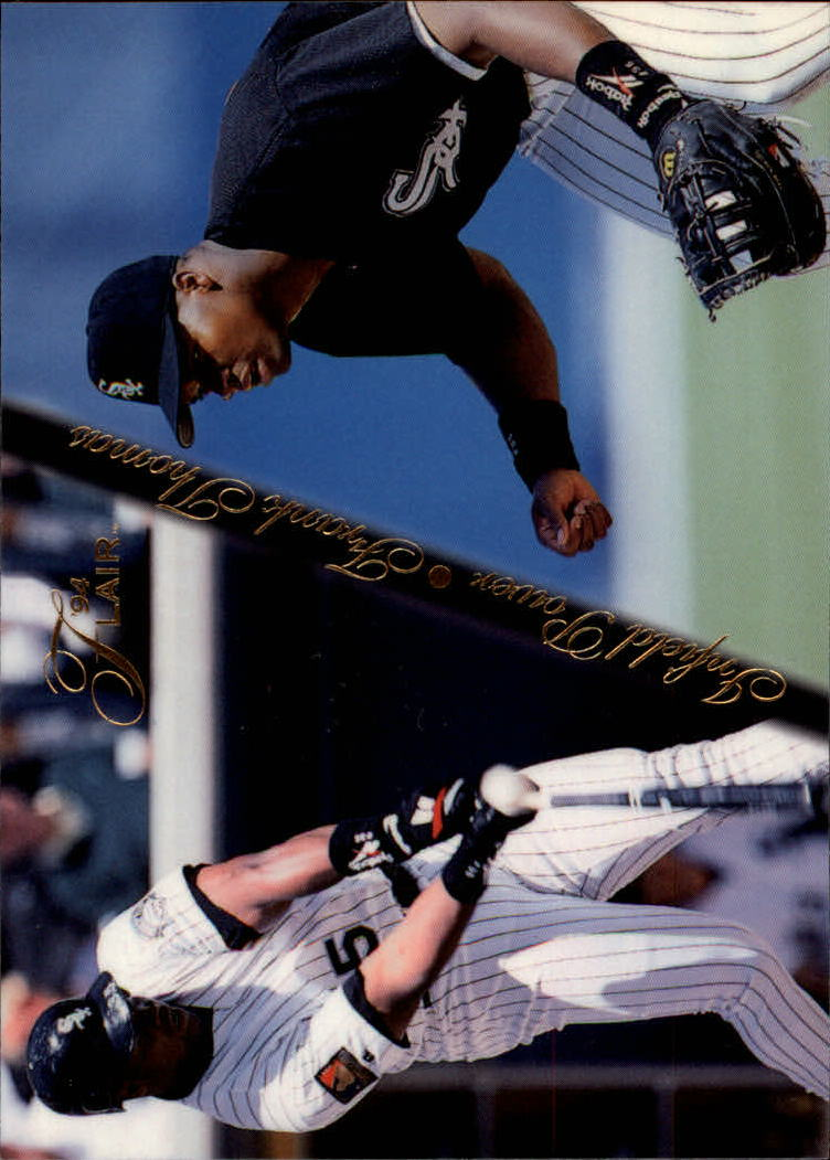 1994 Flair Infield Power #9 Frank Thomas