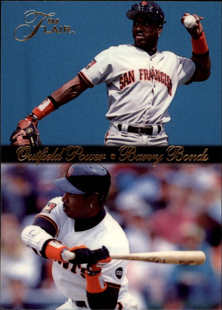 1994 Flair Outfield Power #2 Barry Bonds