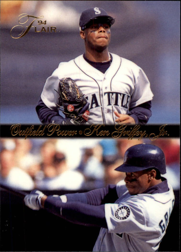 1994 Flair Outfield Power #6 Ken Griffey Jr.