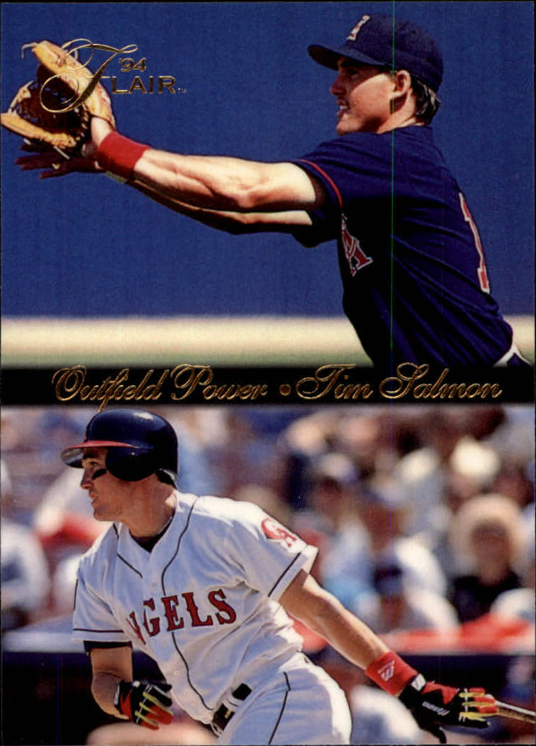 1994 Flair Outfield Power #9 Tim Salmon