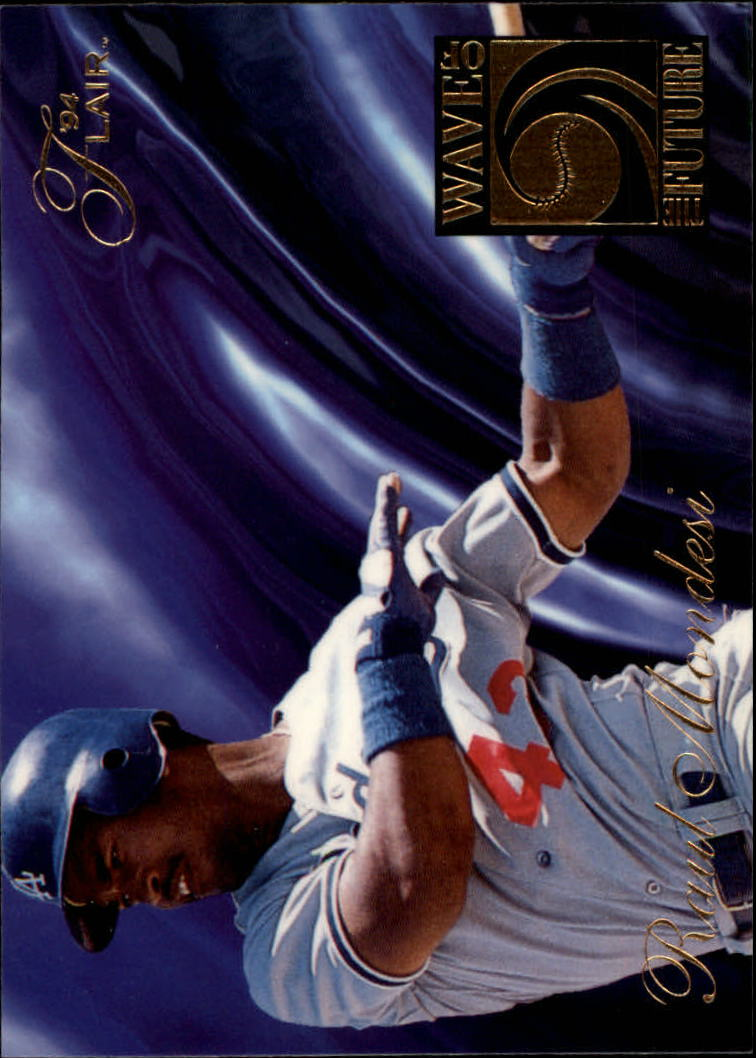 1994 Flair Wave of the Future #A6 Raul Mondesi