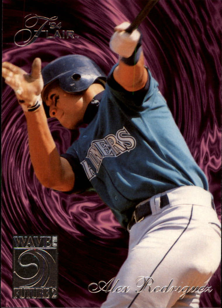 1994 Flair Wave of the Future #B8 Alex Rodriguez
