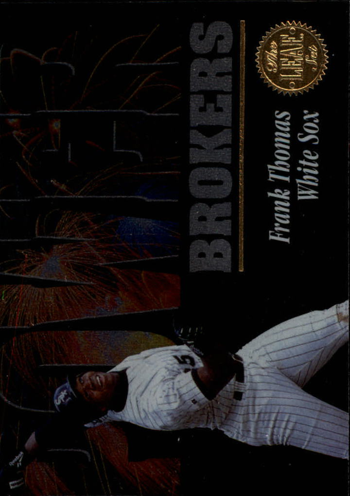 1994 Leaf Power Brokers #1 Frank Thomas