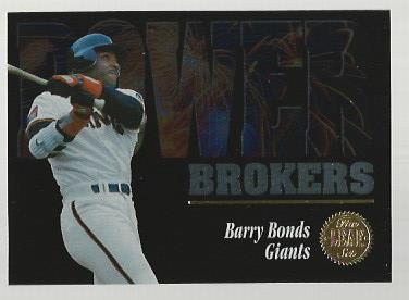 1994 Leaf Power Brokers #3 Barry Bonds