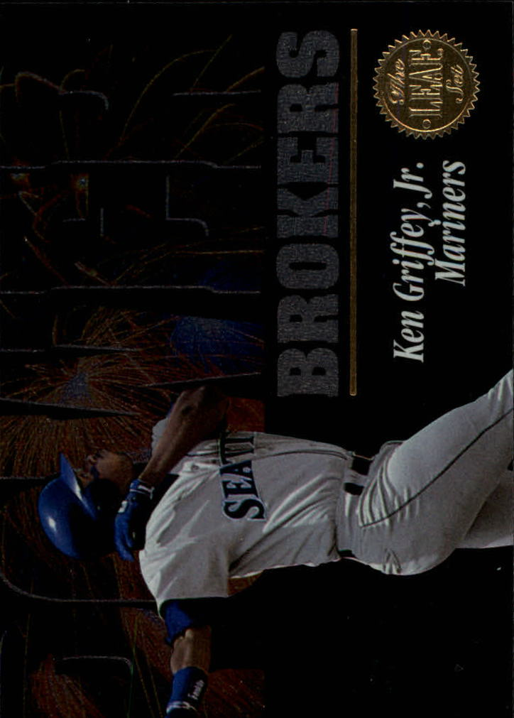 1994 Leaf Power Brokers #5 Ken Griffey Jr.