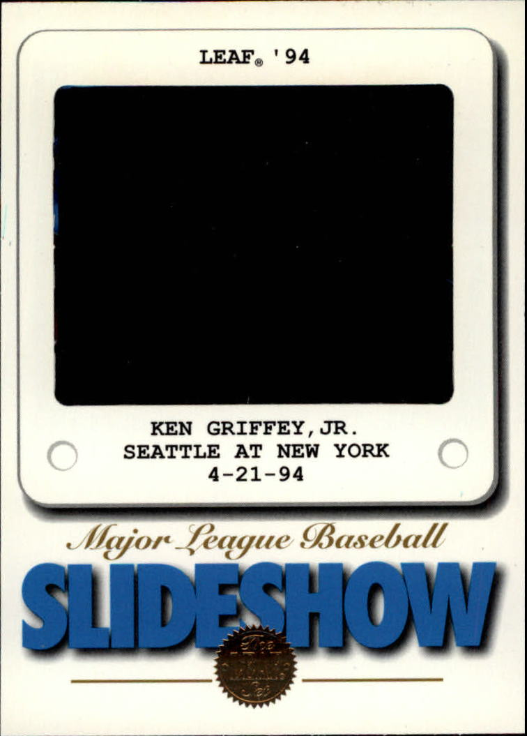 1994 Leaf Slideshow #9 Ken Griffey Jr.