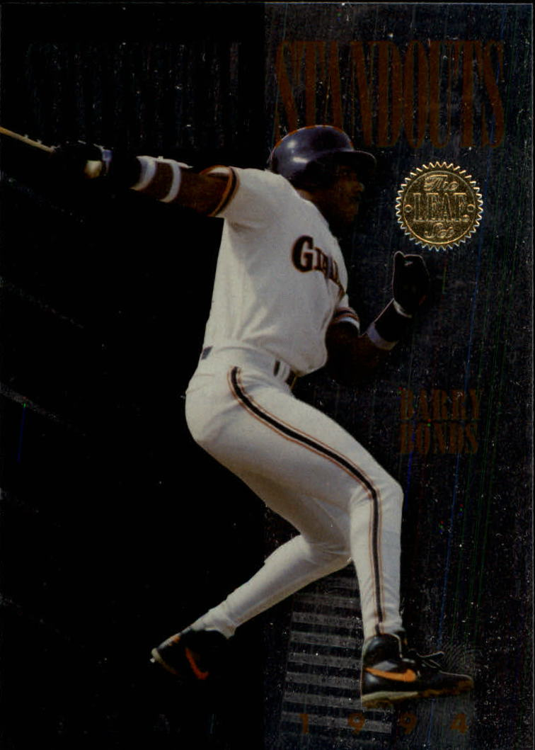 1994 Leaf Statistical Standouts #2 Barry Bonds