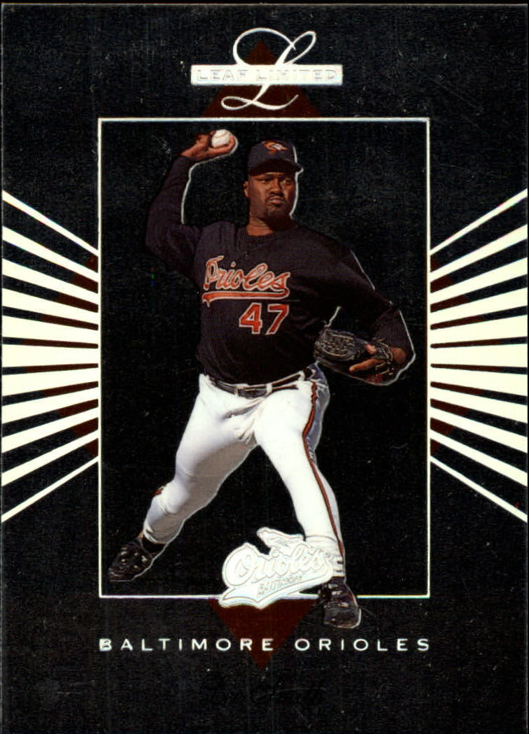 1994 Leaf Limited #6 Lee Smith