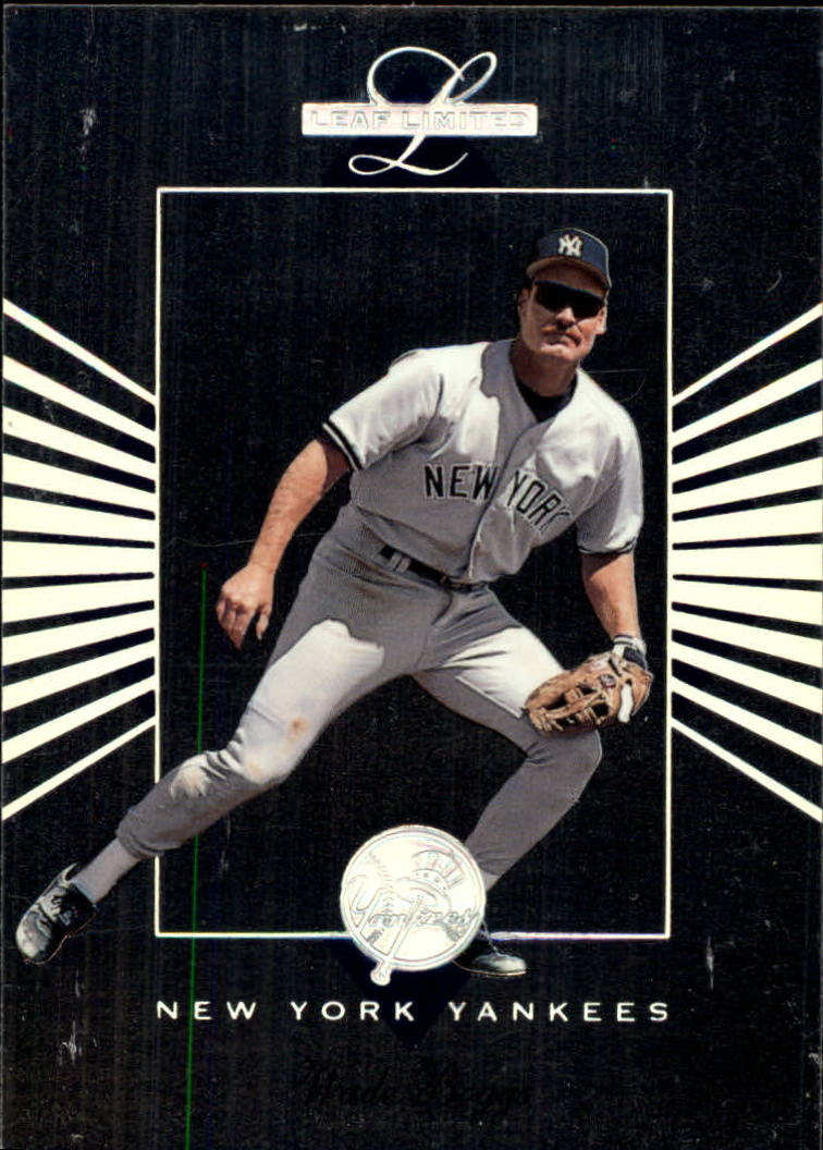 1994 Leaf Limited #54 Wade Boggs