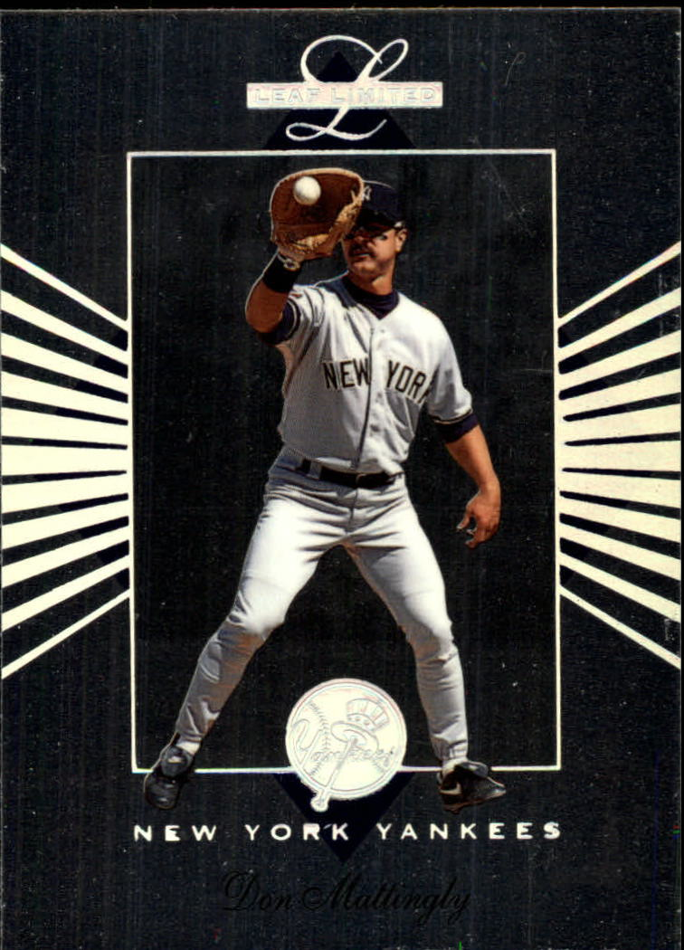 1994 Leaf Limited #56 Don Mattingly