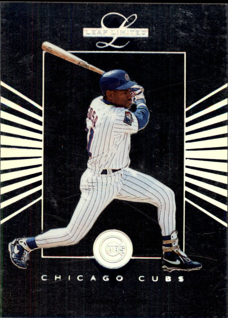 1994 Leaf Limited #92 Sammy Sosa