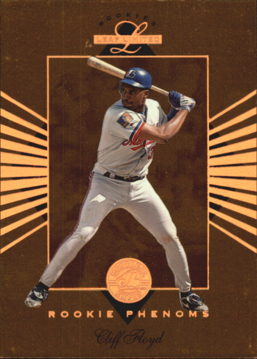 1994 Leaf Limited Rookies Phenoms #5 Cliff Floyd