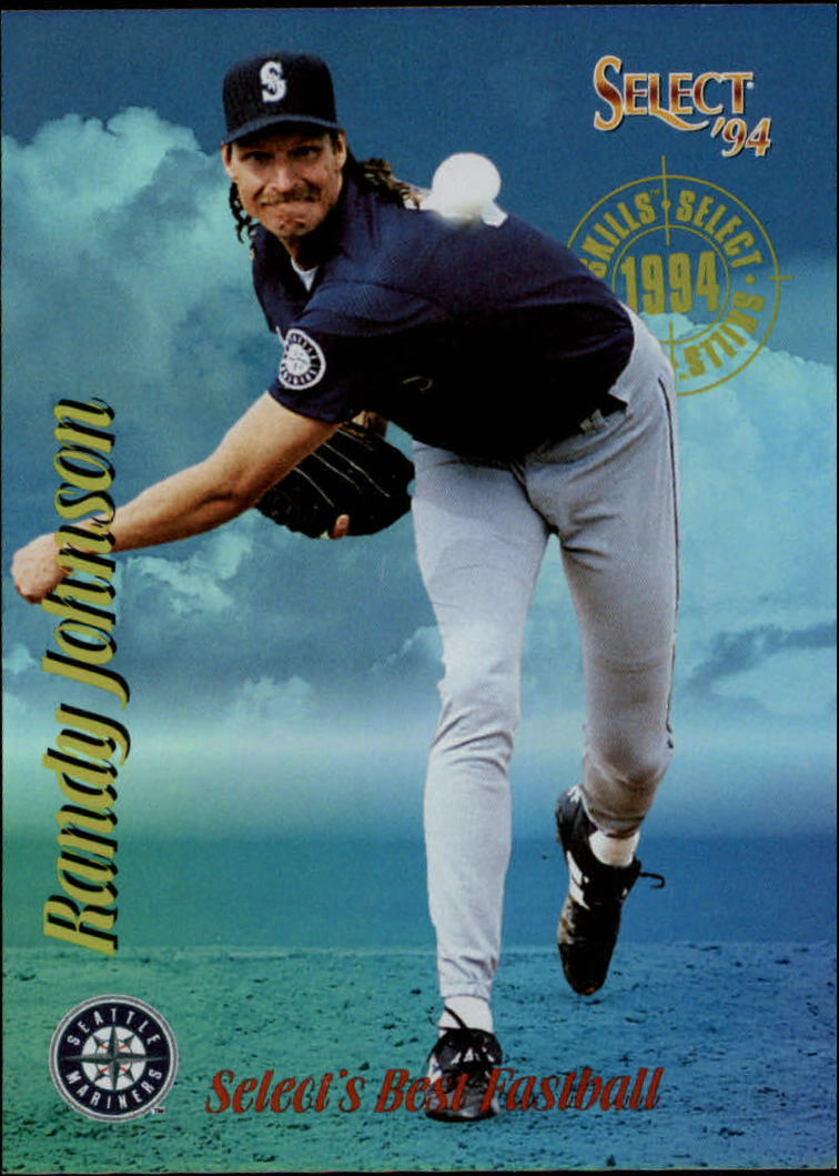 1994 Select Skills #SK1 Randy Johnson