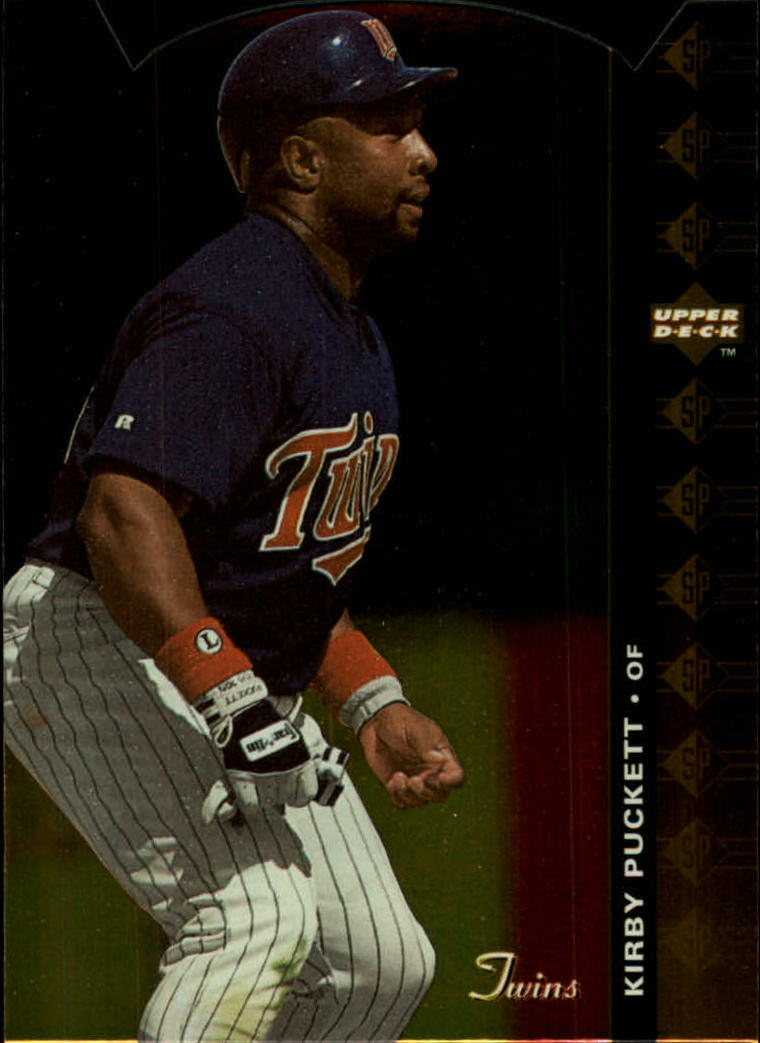 1994 SP Die Cuts #186 Kirby Puckett
