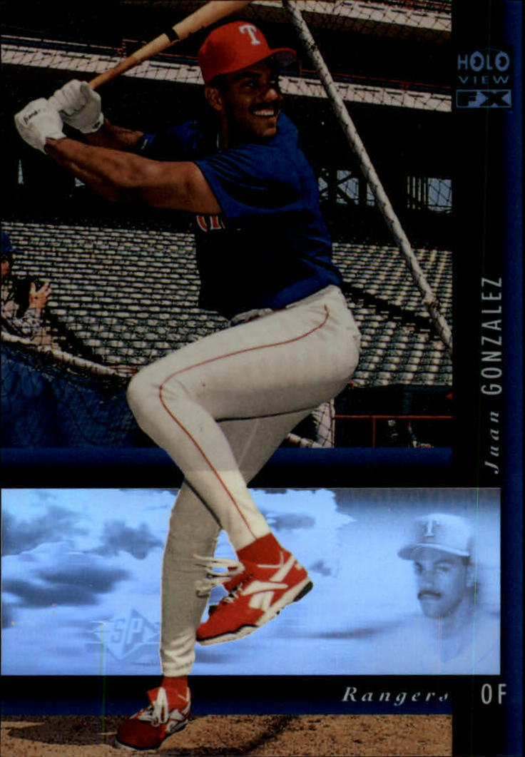 1994 SP Holoviews #11 Juan Gonzalez