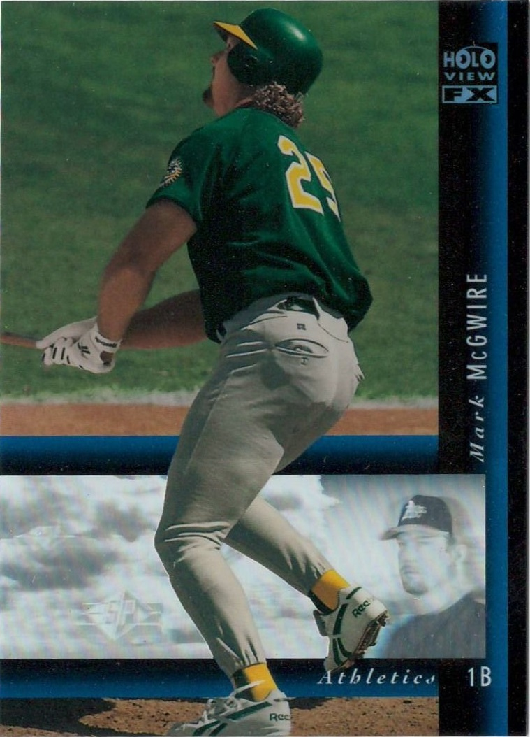 1994 SP Holoviews #26 Mark McGwire