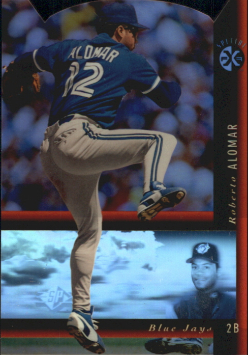 1994 SP Holoviews Die Cuts #1 Roberto Alomar