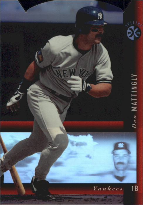 1994 SP Holoviews Die Cuts #25 Don Mattingly