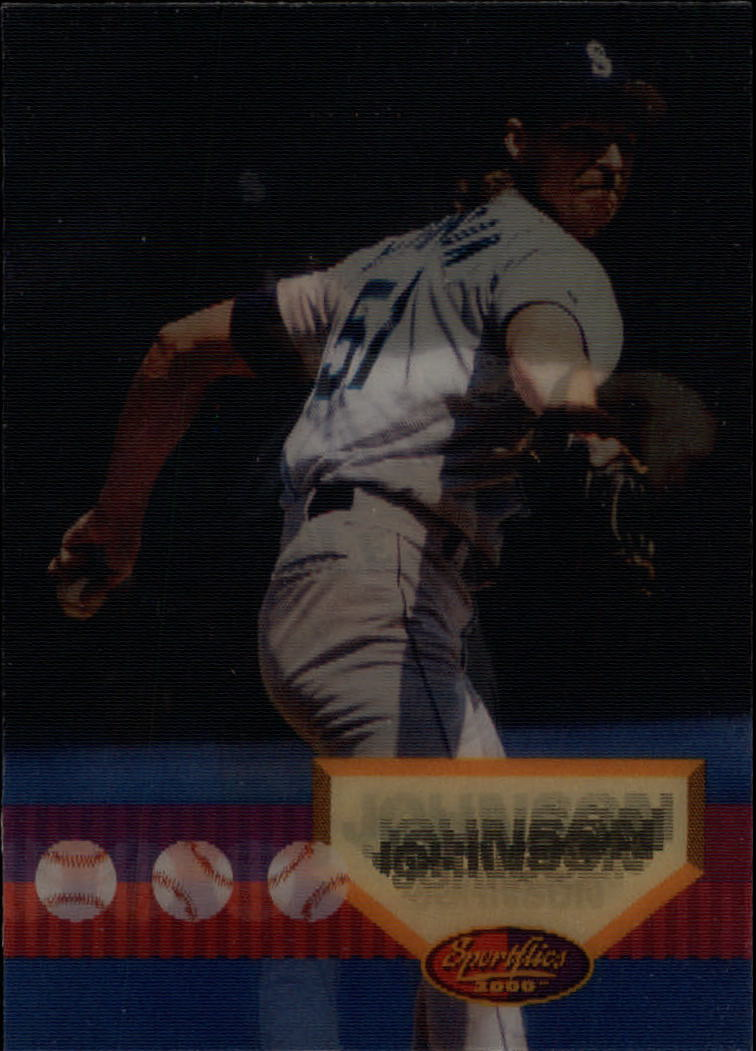 1994 Sportflics #30 Randy Johnson