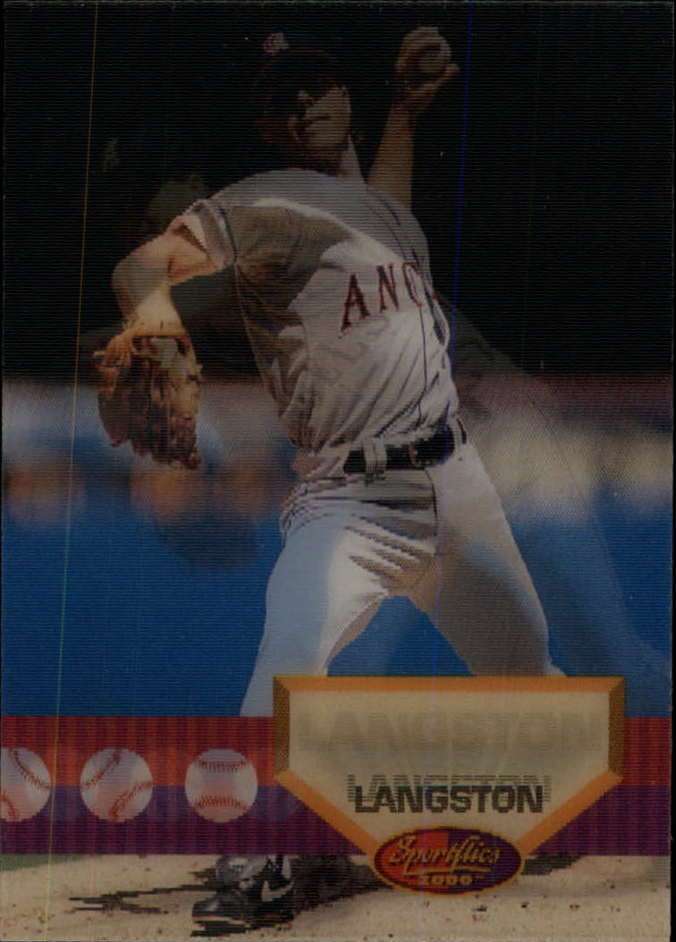 1994 Sportflics #38 Mark Langston